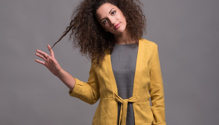 Shantima Linen Jacket