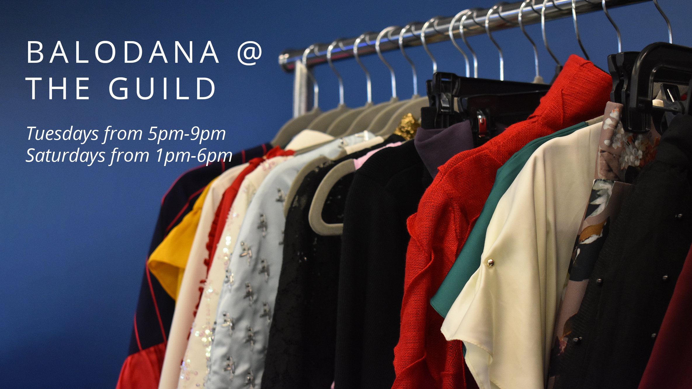 Balodana at The Guild (Trunk Show & Free Measurements)